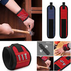 Magnetic Wristband Band Pocket Belt Pouch Bag Screws bolts Nails Holder Workshop