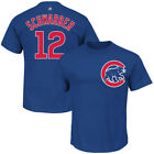 Chicago Cubs Majestic Big & Tall New Player Tees T-Shirt