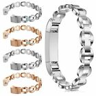 Fashion Crystal Stainless Steel Strap Wrist Watch Band Brecelets For Fitbit Alta