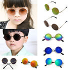 Cool Baby Girls Boys Kids Sunglasses Vintage Retro Round Metal Glasses Eyewear