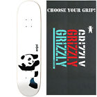 ENJOI Skateboards WHITEY PANDA Deck Only skateboard with GRIZZLY GRIPTAPE