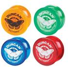 Duncan Butterfly wide shape long spin tricks yoyo. Classic beginners yo-yo.