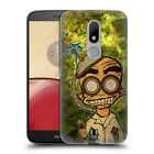 HEAD CASE DESIGNS MAD SCIENTISTS HARD BACK CASE FOR MOTOROLA MOTO M