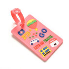 Luggage Tags Strap Name Address ID Suitcase Baggage Travel Label Tag WB