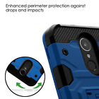 BLUE Black Storm Tank Hybrid PROTECTOR case Cover for Samsung GALAXY S8 /S8 PLUS