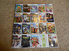 Nintendo Wii Games! You Choose from Large Selection! Many Titles! Mario Metroid