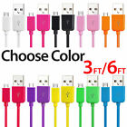 Lot Micro USB Charger Charging Sync Data Cable For Samsung Galaxy S4 S6 7 Note 4