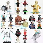 Star Wars Minifigures Darth Vader Stormtrooper ROUGE ONE Fit Lego Superheroes $3.3 AUD