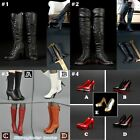 "1/6 Scale High-heeled Boots Women Shoes For 12"" Action Figure Female Body Toys"