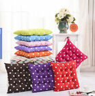 UK Ship New Polka Dot Seat Pad Chair Cushions Pads For Garden Dining Room Office