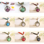 Fashion Womens Retro Jewelry Chain Delicate Alloy Pendant Necklace Vintage