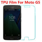 1x/2x Lot TPU Explosion-proof Soft Full Front Screen Protector For Moto G5 5""