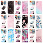 For iPhone SE 5 5S Colorful Patterns Leather Card Wallet Stand Flip Case Cover
