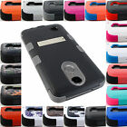 FOR NEW LG PHONE MODELS SHOCKPROOF TUFF CASE RUGGED ARMOR STAND COVER+STYLUS