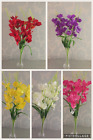 59cm Artificial Silk Flowers Gladiolus Gladioli bush  Indoor or Outdoor Displays