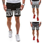 2017 Spring and summer new boutique men fashion casual alphabet Printing shorts