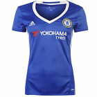 New Adidas Chelsea FC Womens Soccer Jersey : 2016/17 Home Blue
