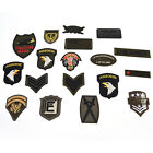 Military Motif Embroidered Patches for Clothing Sew Iron on Clothes Appliques W $0.79 USD
