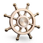 Tri Fidget Hand Spinner Triangle Brass Metal Colorful Finger Toy EDC Focus ADHD <br/> [LONG-LASTING SPINS] [HIGH QUALITY]  [US STOCKING]