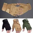 Outdoor SportS FINGERLESS Gloves Military Tactical Airsoft Hunting Riding TXST