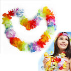 100pcs Hawaiian Tropical Leis Flower Garlands Fancy Dress Necklace Party Night