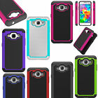 Hybrid Rugged Armor Protective Anti-shock Hard Cover Back Phone Case for Samsung