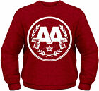 ASKING ALEXANDRIA Classic Band Logo CREW NECK SWEATER JUMPER PULLOVER