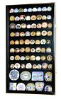 large shadow boxes display cases - Large Challenge Coin Display Case Box Holder Marines Navy Army 98% UV Lockable