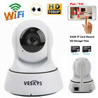 Wireless Pan Tilt HD Network Home WIFI Webcam Security IP Camera IR Night Vision