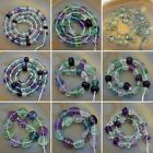 Grade AAA Colorful Flourite Gemstone Faceted Carved Beads Pick Size & Shape