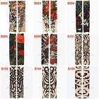 Seamless Arm Tattoo Sleeves Cover UV Skin Cover Sun Protector Motorcycle Sports