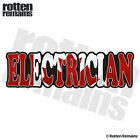 Electrician Decal Canada Canadian Flag Gloss Vinyl Hard Hat Sticker HGV