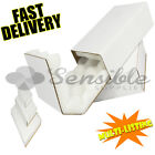 SHELL AND SLIDE SAFE POSTAL PACKAGING WHITE FOAM LINED INSULATED PROTECTED BOXES