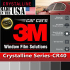 3M Crystalline 40% VLT Automotive Car Truck Window Tint Film Roll Multi Sz CR40
