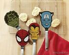 NEW Marvel The Avengers Superhero Captain America Or Iron Man Flexible Spatula