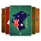HEAD CASE DESIGNS COUNTRY FLAG MAPS HARD BACK CASE FOR APPLE iPAD 9.7 (2017)