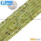 Wholesale Lot Natural Assorted Stones Faceted Rondelle Spacer Beads Free Shiping