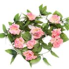 New Fake Flower Leaf Artificial Home Garden Wedding Decor Wall Hanging TXCL01