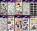U CHOOSE Sticko MUSIC Stickers ROCK & ROLL BAND INSTRUMENTS MUSICIAN CONCERT