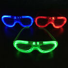 LED Light Up Sunglasses Shades Flashing Blink Glow Glasses 3 Mode Disco Party