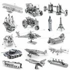 Metal Earth 3D Models Laser Cut DIY Steel Miniatures 19 Designs NEW