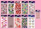 U CHOOSE Sticko Stickers VALENTINE'S DAY LOVE WEDDING HEARTS LIPS KISSES