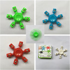 Six Arm Hand Finger Spinner Bearing EDC Fidget ADHD Stress Relief Focus Toy 1PC