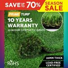 10-80SQM Synthetic Turf Artificial Grass Plant Fake Lawn Flooring 20mm