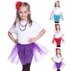 Lovely KIds Girls Fairy Ballet Dance Party Tulle Tutu Skirt Pettiskirt Dress