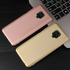 Ultra-thin Carbon Fiber Soft Rubber Gel Cover Case For Xiaomi Redmi Note 4X 5A 3