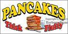 (CHOOSE YOUR SIZE) Pancakes DECAL Concession Food Truck Vinyl Sticker