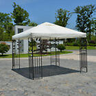 10*10ft Canopy Instant Gazebo Tent Replacement Top Polyester Cover 3 Colors NEW