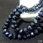 Wholesale Crystal Glass Rondelle Faceted Loose Spacer Beads Color AB 3mm~10mm