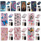 For Samsung Galaxy A5 2017 A520 Relievo 3D Varnish Leather Flip Card Wallet Case
